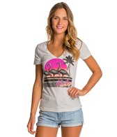 Hurley Flamingo Paradise Perfect V Tee