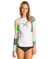 Hurley One & Only Colorblock L/S Rashguard