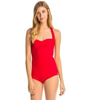 Betsey Johnson California Girl One Piece Swimsuit