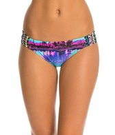 Gossip Dayglow Palms Shirred Hipster Bottom