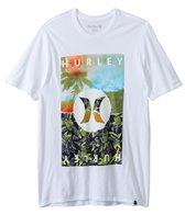 Hurley Men's Torn Short Sleeve Tee