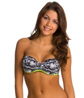 Hurley Pineapple Block Bandeau Top