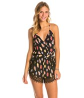 Lucy Love Flock Together Lacy Romper