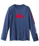 Quiksilver Boys' Mountain & Wave Solid L/S Tee (2T-4T)