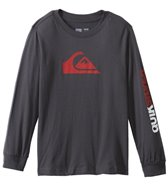 Quiksilver Boys' Mountain & Wave L/S Tee (8yrs-20yrs)