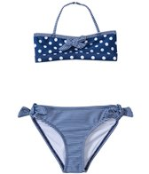 Jantzen Girls' Set Sail Polka Dot & Stripe Bikini Two Piece Set (4yrs-6yrs)
