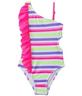 Jantzen Girls' Summer Days Fun In The Sun Cut Out One Piece (2T-4T)