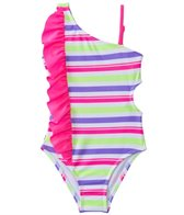 Jantzen Girls' Summer Days Fun In The Sun Cut Out One Piece (4yrs-6yrs)