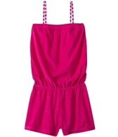 Jantzen Girls' Plush Terry Cover Up Romper (4yrs-6yrs)