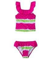 Jantzen Girls' Summer Days Watermelon Tankini Two Piece Set (2T-4T)