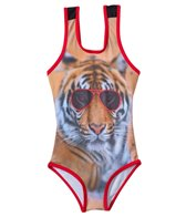 Jantzen Girls' Animal Kingdom One Piece (4yrs-6yrs)