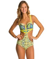 Maaji Diamond Leaf One Piece Swimsuit