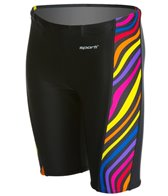 Sporti Whirl Piped Splice Jammer Swimsuit Youth (22-28)