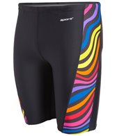 Sporti Whirl Piped Splice Jammer Swimsuit