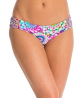 Luli Fama Sol Brillante Hand Knit Crochet Flower Bikini Bottom
