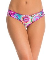 Luli Fama Sol Brillante Ruched Bikini Bottom