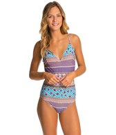 MINKPINK Sky High Low Back One Piece Swimsuit