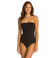 Vince Camuto Key West Style Pleated Bandeau One Piece