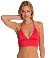 DKNY Street-Cast Triangle Bralette Bikini Top