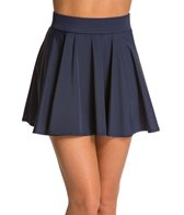 DKNY Solid Cover Up Skirt