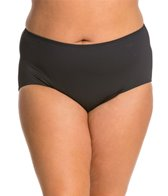 Carmen Marc Valvo Plus Size Solid Hipster Bottom