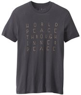 Be Love Men's World Peace Through Inner Peace Tee