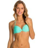 Hot Water Solid Push Up Bikini Top