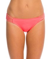 Hot Water Solid Multi Strap Hipster Bikini Bottom
