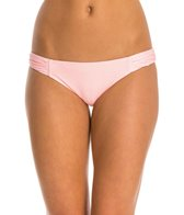 Hot Water Gone South Shirred Tab Hipster Bikini Bottom