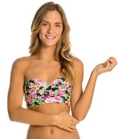 Hot Water Wildflower Underwire Midkini Bikini Top