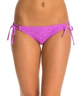 Hot Water Sweet Breeze Keyhole Shirred Back Bikini Bottom