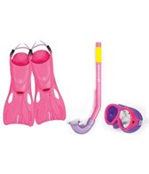 Body Glove Quest Kids Mask/Snorkel/Fins Set