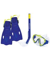 Body Glove Boys' Swell Mask, Snorkle and Fin Set