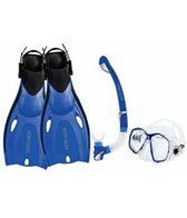Body Glove Oasis Mask, Snorkle, and Fin Set
