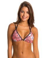 Sofia Jardin Pink Double Strap Bikini Top