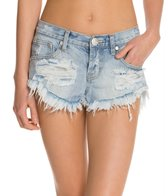 One Teaspoon Wilde Bonitas Denim Shorts