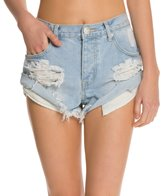 One Teaspoon Wilde Bandits Denim Shorts