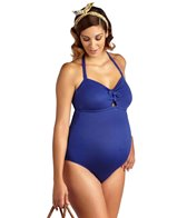 Pez D'or Maternity Rimini Solid Textured One Piece