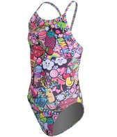 Amanzi Kitsch Girls' One Piece Swimsuit