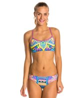 Amanzi Moroccan Nights Women's Sports Bikini Swimsuit Set