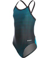 Sporti Molecule Thin Strap Swimsuit Youth
