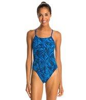 Nike Flux Cut-Out Tank Swimsuit