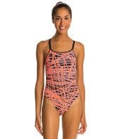 Nike Blaze Spider Back One Piece Tank Swimsuit