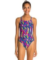 Nike Prism Cut-Out Tank Swimsuit