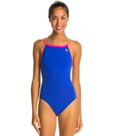 TYR Solid Brites Diamondfit One Piece Swimsuit