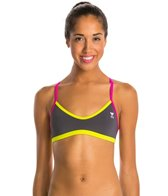 TYR Solid Brites Crosscutfit Bikini Swimsuit Top