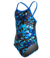 TYR Labyrinth Youth Diamondfit One Piece Swimsuit