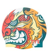 TYR Battle Kabuto Graphic Silicone Swim Cap
