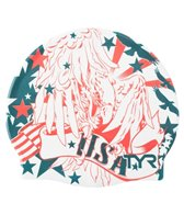 TYR Liberty Ink Graphic Silicone Cap