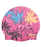 TYR Island Breeze Graphic Silicone Cap